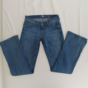 7 for all mankind squiggly pocket jeans